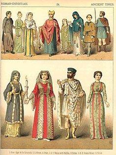 6th-8th century Byzantine Dress