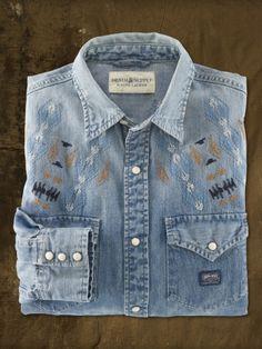 Raw-Hem Western Shirt - Denim & Supply Classic-Fit - RalphLauren.com