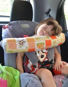 Travesseiro para Cadeirinha - Florzinha Rosa