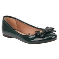 Sapatilha Verde de Verniz - Shoestock