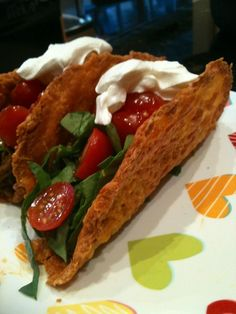 """Low carb gluten free """"taco shells"""""""