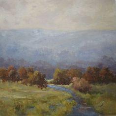 A River Runs Through by Bethanne Kinsella Cople  Oil ~ 30 x 30