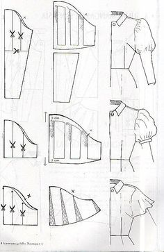 All Things Sewing and Pattern Making Sewing Tutorials, Sewing Hacks, Sewing Crafts, Sewing Projects, Techniques Couture, Sewing Techniques, Pattern Cutting, Pattern Making, Dress Sewing Patterns