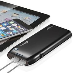 Fosmon (P15K) 15600mAh Dual USB Portable Power Bank (5V/1.0A & 5V/2.1A Out