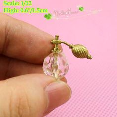 1/12 Dollhouse Miniatures Lovely Mini Perfume Bottle/Doll House ...