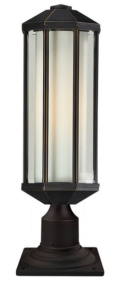 View the Z-Lite 526PH-533PM Cylex 1 Light Outdoor Pier Mount Light with Matte Opal Shade at Build.com.