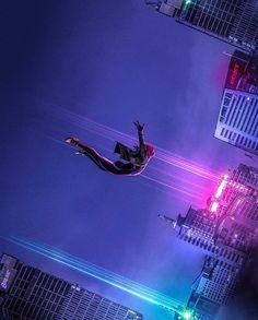 Spider-Man Into The Spider-Verse By Bosslogic