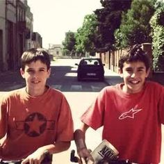 Marc & Alex Marquez. When they were kid ^_^