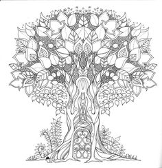 Inspirational coloring pages from Secret Garden, Enchanted Forest and other coloring books for grown-ups. - Google zoeken…