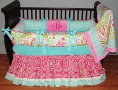 Gorgeous Authentic Modpeapod Baby Crib Bedding Set Custom Modern Plush