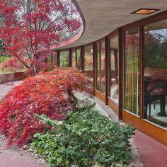 Frank Lloyd Wright's Kenneth Laurent House    DesignRulz.com
