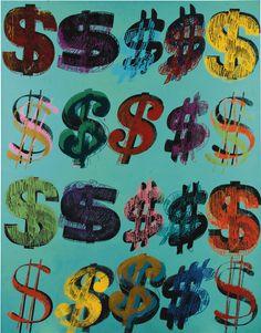 Dollar Signs, Andy Warhol, $ 10,8 million