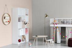 Oliver Furniture Halbhohes Hochbett Wood 90x200 Cm Weiß / Weiß