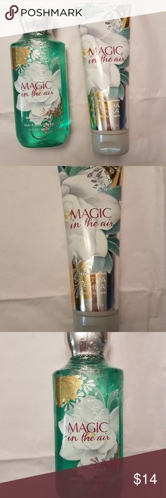 Bath and Body Works Magic in the Air ~New Bath and Body Works Magic in the Air : Body Cream ~8 oz Shower Gel ~10 oz   Full size, and brand new... Unopened  Make a bundle - I'll send you a private offer ♥  Check out my genuine Bath and body works products and other cosmetic items. Other