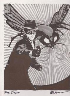 Green Hornet by Michael Lark Comic Art