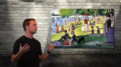 Get to the point: Georges Seurat and Pointillism by Nate Heck. Artrageous with Nate, is a children's art program that allows art history (and art) to become approachable and relatable again. After extensive research through the National Visual Art Standards, I created a program that exceeds these standards, delivering on essential benchmarks through a creative and exciting new means.