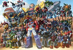 1985 Autobot group shot