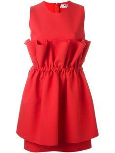 Robe rouge MSGM
