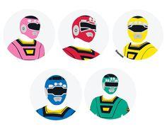 Pawer Rangers, Go Go Power Rangers, Vr Troopers, Space Ghost, All Anime, Nerd Stuff, Art Designs, Chibi, Beast