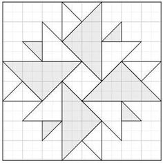 Résultat d'images pour Barn Quilt Pattern Templates Barn Quilt Designs, Barn Quilt Patterns, Patchwork Patterns, Pattern Blocks, Quilting Designs, Quilting Patterns, Patchwork Quilting, Crochet Quilt Pattern, Patchwork Cushion