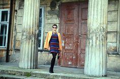 nowa-k sukienka top shop jesień rękawy dzwony naszyjnik zara marynarka asos Asos, Zara, Vest, Jackets, Fashion, Down Jackets, Moda, Fashion Styles, Fashion Illustrations