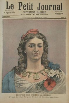 Le nouveau buste de la République - 1848