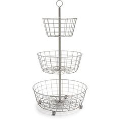 LITTLE BIG LIFE: Take an Epergne basket rack and use it in your small home office for all kinds of stuff!