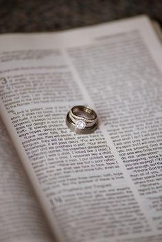 Wedding Rings, bible<3