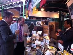 Brandon Lewis meets traders at Borough Market #LYLM2014