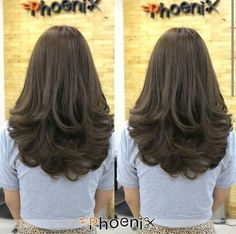 Layered Haircuts and Hairstyles - Indian Fashion Ideas Haircuts For Long Hair With Layers, Haircuts Straight Hair, Long Layered Haircuts, Medium Straight Haircut, Haircut Layers, Medium Hair Cuts, Long Hair Cuts, Medium Hair Styles, Front Hair Styles