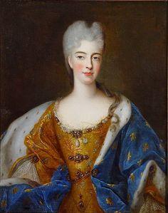 Élisabeth Charlotte d'Orléans daughter of Louis XV, c1700