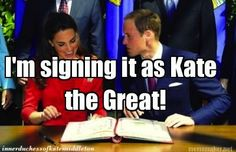 A New Title (The Inner Duchess of Kate Middleton)