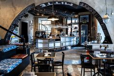 Cafe Mitte in Graz Coffee And Books, Trip Advisor, Restaurant, Places, Interior, House Coffee, 30, Travelling, Movie