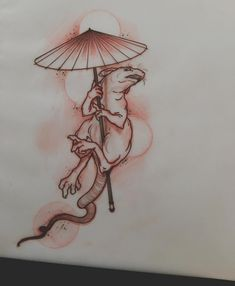 available rat tattoo neotraditional