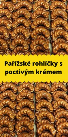 Pařížské rohlíčky s poctivým krémem Christmas Sweets, Christmas Baking, Slovak Recipes, Amazing Cakes, Christmas Cookies, Cake Recipes, Food And Drink, Healthy Recipes, Cooking