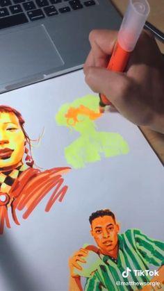 Easy People Drawings, Unique Drawings, Art Drawings Beautiful, Sketches Of People, Cool Art Drawings, Disney Drawings, Pencil Art Drawings, Art Drawings Sketches, Drawing People
