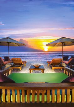 Aston Sunset Resort in Gili Trawangan, Indonesia