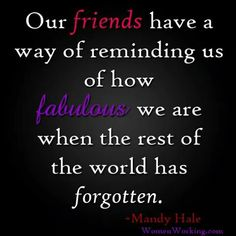 Lovly quate sent to me by my best friend cheered me up xx