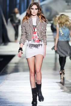 Dsquared2 Fall 2009 Ready-to-Wear Fashion Show - Catherine McNeil