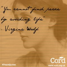 #PeaceQuotes from Cord.org.uk