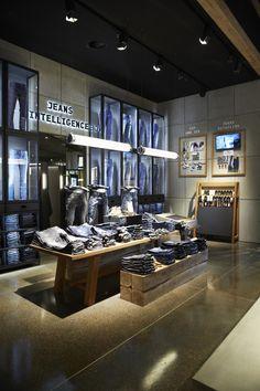Jack and Jones store, Kolding, Denmark by Riis Retail Vitrine, Magasin,  Demain e69616236ab1