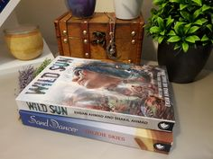 Sand Dancer with big brother Wild Sun - both published by Uproar Books.