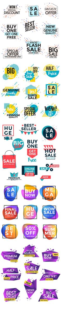 Vivid Collection of Sale Banners by Creative Graphics on @creativemarket