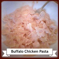 Recipe: Buffalo Chicken Pasta