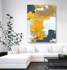 Original Orange Yellow Abstract Painting,Abstract Painting Canvas,Browm Abstract Painting,White Abstract Painting,Modern Living Room Art - Sites new Modern Oil Painting, Blue Abstract Painting, Oil Painting For Sale, Abstract Canvas, Painting Canvas, Abstract Paintings, Watercolor Painting, Landscape Paintings, Metal Wall Sculpture