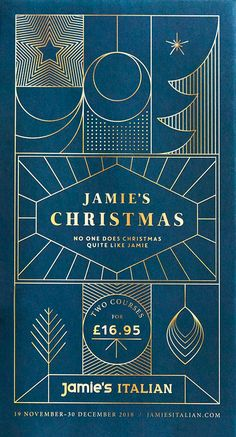Jamie's Italian Christmas identity, menu's & marketing collateral by Superfantastic Christmas Flyer, Christmas Design, Blog Design, Print Design, Graphic Design, Making A Business Plan, Creative Design Agency, Journal Template, Magazine Layout Design