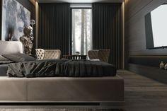 Schlafzimmer Schwarz - 31 Beispiele, dass schwarze Schlafzimmer ...