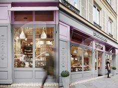 """Durance store by generous, paris - france """" retail design bl Shop House Plans, Shop Plans, Paris France, Shop Interior Design, Exterior Design, Facade Design, Store Design, Retail Signs, Store Signage"""