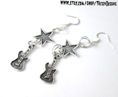 Hey, I found this really awesome Etsy listing at http://www.etsy.com/listing/163079652/guitar-earrings-punk-rock-jewelry-rock-n