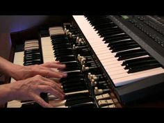 "STARDUST ~ On the Hammond Organ    Here's another organist's interpretation of ""Stardust""...He plays very well and I, personally, enjoyed listening to his arrangement. I hope you do too!"